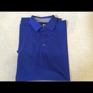 Footjoy Blue Golf Shirt - Large